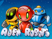 Игровой автомат Alien Robots от компании Netent